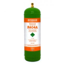 1,8 Kg R404a REFRIGERANT GAS REFILLABLE CYLINDER