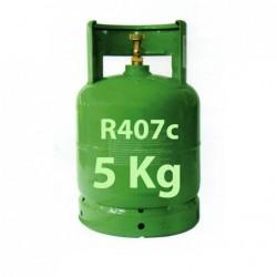 5 kg R407c Kältemittel nachfüllbar Gasflasche