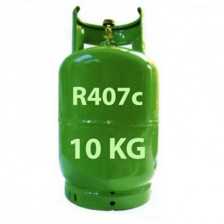 10 kg R407c Kältemittel nachfüllbar Gasflasche