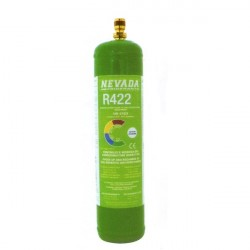 R422 (ex R22) REFRIGERANT GAS KIT RECHARGE BOTTLE (850g)
