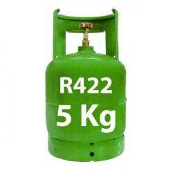 5 kg R422 (ex R22) kältemittel nachfüllbar Gasflasche