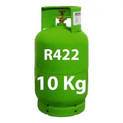 10 Kg R422 (ex R22) REFRIGERANT GAS REFILLABLE CYLINDER