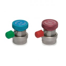2 x QUICK COUPLERS R134a
