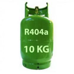 10 Kg R404a KÄLTEMITTEL NACHFULLBAR GAS FLASCHE