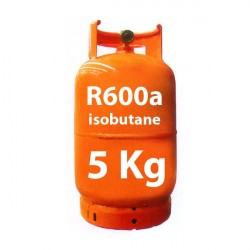 5 kg R600a (isobutan) kältemittel