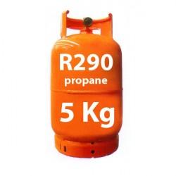5 kg R290 (propan) kältemittel nachfüllbar Gasflasche