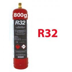 800g R32 REFRIGERANT GAS REFILLABLE CYLINDER