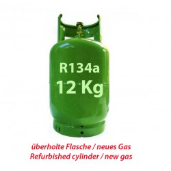 12 Kg R134a REFRIGERANT GAS REFILLABLE CYLINDER