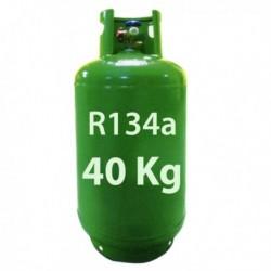 40 Kg R134a KÄLTEMITTEL NACHFULLBAR GAS FLASCHE
