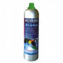 R134a REFRIGERANT GAS CAR KIT RECHARGE BOTTLE (900g)