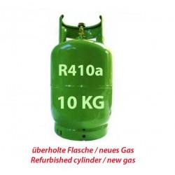 10 Kg R410a KÄLTEMITTEL NACHFULLBAR GAS FLASCHE