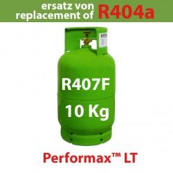 10 Kg R407F REFRIGERANT GAS REFILLABLE CYLINDER