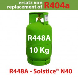 10 Kg R448a REFRIGERANT GAS REFILLABLE CYLINDER