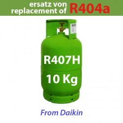 10 Kg R407H REFRIGERANT GAS REFILLABLE CYLINDER