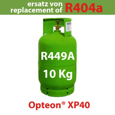 10 Kg R449a REFRIGERANT GAS REFILLABLE CYLINDER