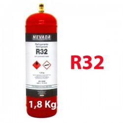 1,8 Kg R32 REFRIGERANT GAS REFILLABLE CYLINDER