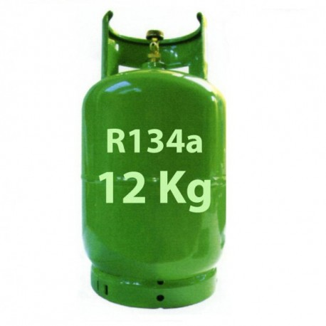 12 Kg R134a REFRIGERANT GAS REFILLABLE CYLINDER