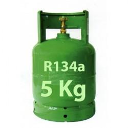 5 Kg R134a KÄLTEMITTEL NACHFULLBAR GAS FLASCHE